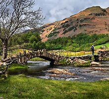 Slater Bridge - Little Langdale by David Lewins