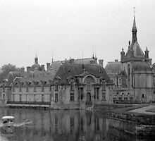Chateau de Chantilly by parischris