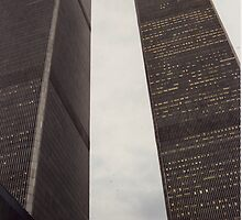 New York - Twin towers - World trade centre by Penny V-P