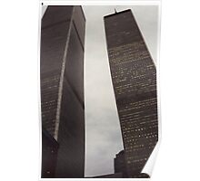 New York - Twin towers - World trade centre Poster