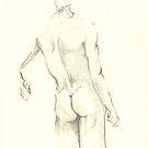 nude in pencil 4 by Arzeian
