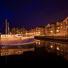 Hartlepool marina reflections by Kane Young