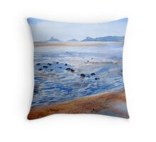 Swansea Bay Throw Pillow