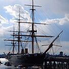 HMS Warrior, Portsmouth by inglesina