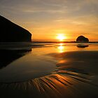 Trebarwith Strand Sunsets by Rob Parsons