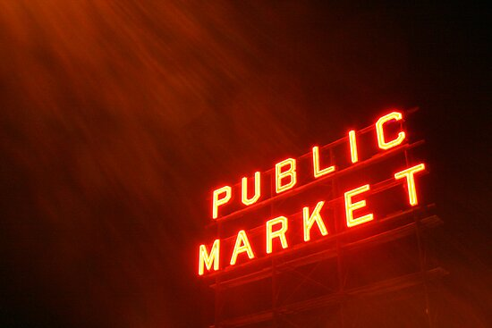 Public Market by Gary Lee Parker