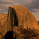 Half Dome at Sunset by Micci Shannon