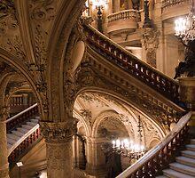 Interior of Paris Opera Garnier by parischris