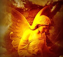 Lifted Up By An Angel by Marie Sharp