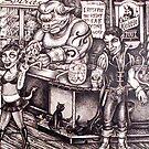 Monster Bar... by Sam Dantone