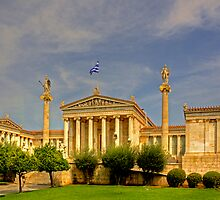 Academy of Athens by Tom Gomez