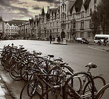 Oxford-Bikes by Pedro Santos