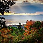 Mt Prospect Lookout in Fall by awgilmore