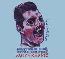 Vamp Freddie by ellejayerose