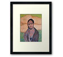 Hitra, a portrait Framed Print