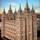 Salt Lake Temple - Heaven's View by Ryan Houston