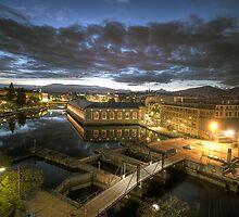 Geneva Morning HDR by David Freeman