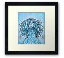 What If I'm A Mermaid... Framed Print