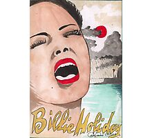 The Great Billie Holiday   Photographic Print