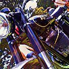 AJS Motorcycle 2 by Dave McBride