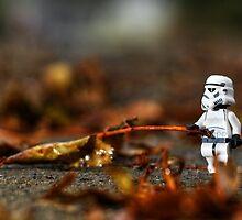 Autumn Clean Up by Douglas  Latham