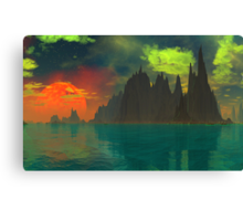 The Rising - Pele's Heaven Canvas Print