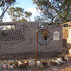 &#x27;THE BOTTLE HOUSE!, Lightning Ridge N.S.W. by Rita Blom