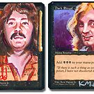Altered Cards: Led Zeppelin by kenmeyerjr