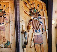 Kachina Door by patrick trotter