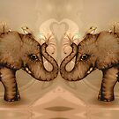 Elephant Love by © Karin  Taylor