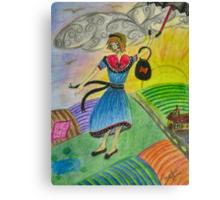 Colour Blown Canvas Print
