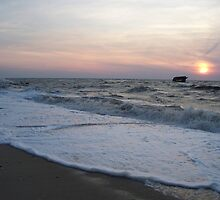 Sunset Beach Cape May by schiabor