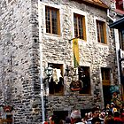 Souse le fort, Quebec city by Brenda Dow