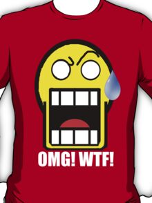 The OMG! Smily Face T-Shirt