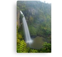 Bridal Veil falls, Waikato, New Zealand Canvas Print