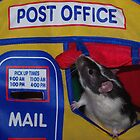 Post Office Rat by LOJOHA