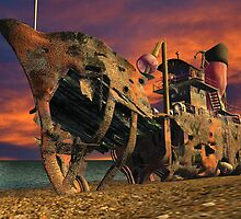WRECK MODEL RENDER SHOT by DilettantO