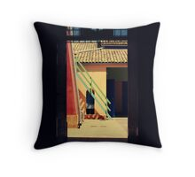 outsideit'sArT Throw Pillow