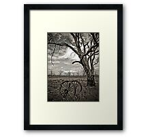Dying Out Framed Print