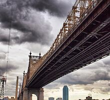 Queensboro bridge, NYC by Andrea Rapisarda