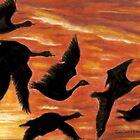 Sky Dancers by Dawn B Davies-McIninch