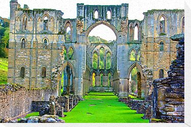 Rievaulx Abbey #1 by Trevor Kersley