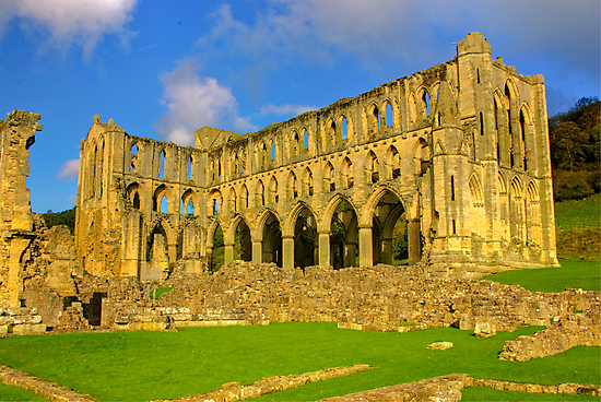 Rievaulx Abbey #2 by Trevor Kersley