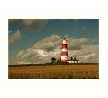 Happisburgh Lighthouse 2 Art Print