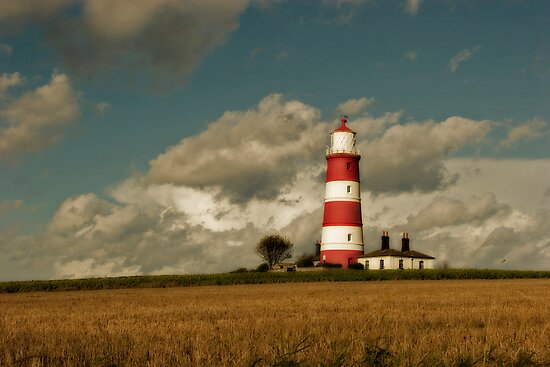 Happisburgh Lighthouse 2 by Carole Stevens