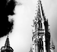 Architectural B&W - Brussels by lallymac