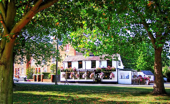 The Windsor Castle Pub - HDR by Colin J Williams Photography