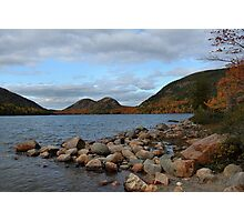 'The Bubbles, From Jordan Pond' Photographic Print