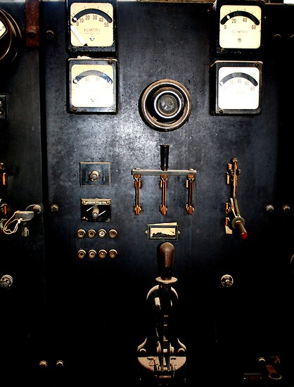 1923 Electrical Panel by Charles Buchanan