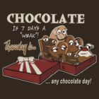 Chocolate - Thursday is any chocolate day by Kartoon